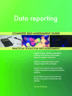 Data reporting Complete Self-Assessment Guide