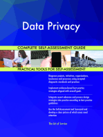 Data Privacy Complete Self-Assessment Guide
