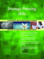 Strategic Planning Skills Complete Self-Assessment Guide