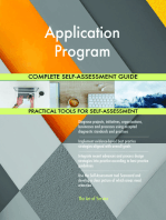 Application Program Complete Self-Assessment Guide