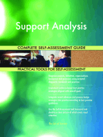 Support Analysis Complete Self-Assessment Guide