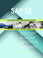 SAP SE Complete Self-Assessment Guide