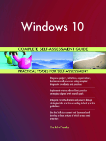 Windows 10 Complete Self-Assessment Guide