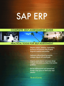 SAP ERP Complete Self-Assessment Guide