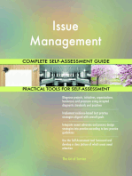 Issue Management Complete Self-Assessment Guide