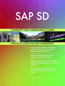 SAP SD Complete Self-Assessment Guide