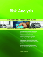 Risk Analysis Complete Self-Assessment Guide