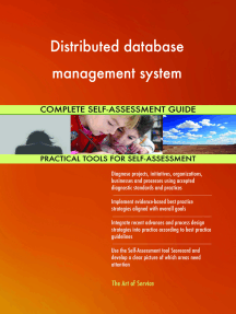Distributed database management system Complete Self-Assessment Guide