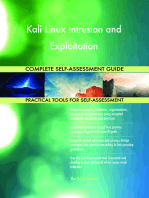 Kali Linux Intrusion and Exploitation Complete Self-Assessment Guide