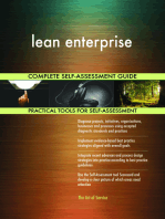 lean enterprise Complete Self-Assessment Guide