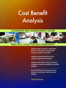 Cost Benefit Analysis Complete Self-Assessment Guide