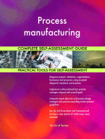Process manufacturing Complete Self-Assessment Guide