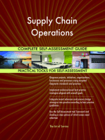 Supply Chain Operations Complete Self-Assessment Guide
