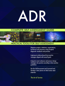 ADR Complete Self-Assessment Guide