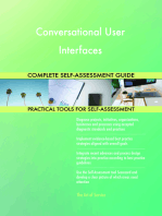 Conversational User Interfaces Complete Self-Assessment Guide