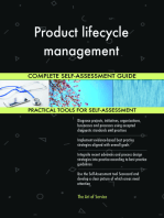 Product lifecycle management Complete Self-Assessment Guide
