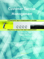 Customer Service Management Complete Self-Assessment Guide