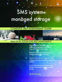 SMS system-managed storage Complete Self-Assessment Guide