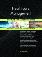 Healthcare Management Complete Self-Assessment Guide