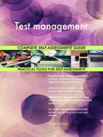 Test management Complete Self-Assessment Guide