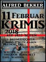 11 Februar Krimis 2018 auf 1422 Seiten