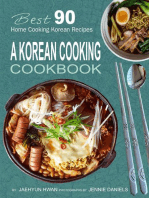 A Korean Cooking Cookbook