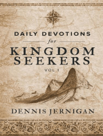Daily Devotions For Kingdom Seekers, Vol 1
