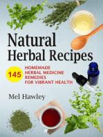 Natural Herbal Recipes