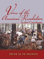 Voices of the American Revolution in the Carolinas