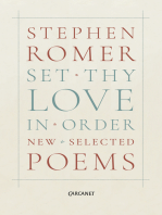 Set Thy Love in Order
