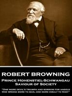 Prince Hohenstiel-Schwangau, Saviour of Society