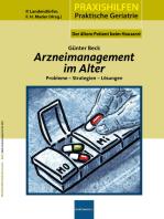 Arzneimanagement im Alter: Preobleme - Strategien - Lösungen