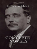 The Complete Novels of H. G. Wells (Over 55 Works
