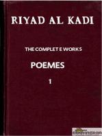 "RIYAD AL KADI ""THE COMPLETE WORKS"" 1"