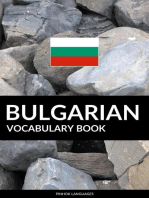 Bulgarian Vocabulary Book: A Topic Based Approach