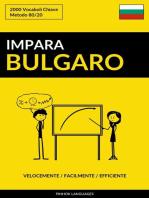 Impara il Bulgaro