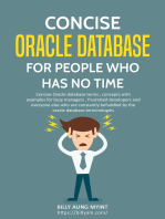 Concise Oracle Database For People Who Has No Time