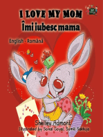 I Love My Mom Îmi iubesc mama (English Romanian Kids Book)
