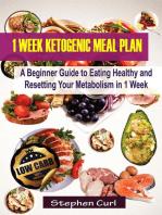 1 Week Ketogenic Meal Plan