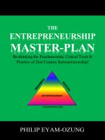 The Entrepreneurship Master-Plan