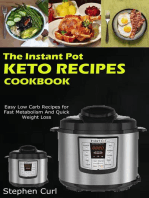 The Instant Pot Keto Recipes Cookbook