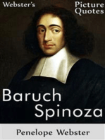 Webster's Baruch Spinoza Picture Quotes