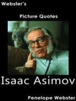 Webster's Isaac Asimov Picture Quotes