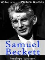 Webster's Samuel Beckett Picture Quotes