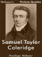 Webster's Samuel Taylor Coleridge Picture Quotes