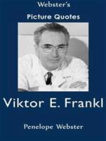 Webster's Viktor E. Frankl Picture Quotes