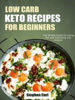 Low Carb Keto Recipes for Beginners