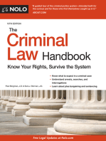 Criminal Law Handbook, The