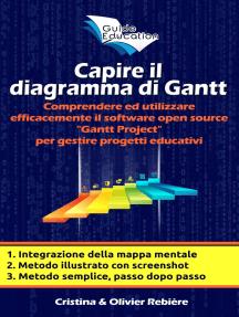 """Capire il diagrama di Gantt: Comprendere ed utilizzare efficacemente il software open source """"Gantt Project"""" per gestire progetti educativi"""