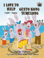 I Love to Help Gusto Kong Tumbling (Bilingual English Tagalog Kids Book)